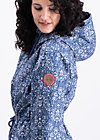 heart in the storm jacket, dutch ornamental , Jacken, Blau