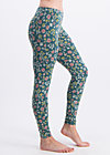 hopp hopp galopp legs, home sweet home, Leggings, Turquoise