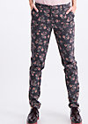 horse & carriage pencil pants , folk star, Hosen, Schwarz