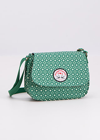 lean on my shoulderbag, stars forever, Handtaschen, Grün