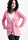 light hearted envelope cardy, rosa flush, Cardigans, Rosa