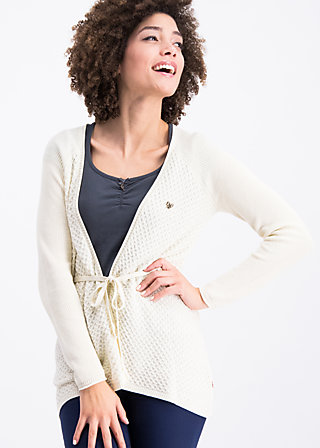 light hearted envelope cardy, white snow, Pullover & leichte Jacken, Weiß