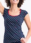 prairie belle shirt, dots of glory, Shirts, Blau