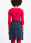 preachers dearest skirt, dots of glory, Jerseyröcke, Blau