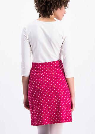 preachers dearest skirt, dots of roses, Skirts, Red