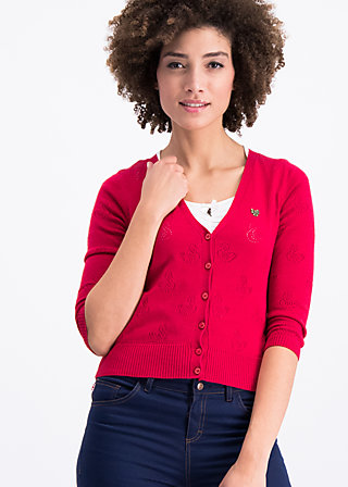 reet petite cardy, red swan, Jumpers & lightweight Jackets, Red