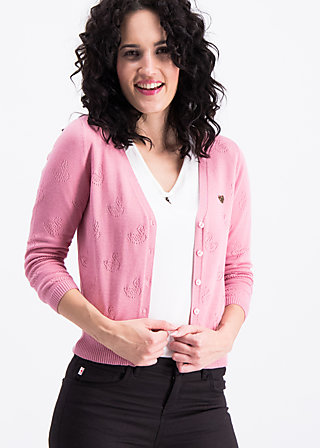 reet petite cardy, rosa swan, Pullover & leichte Jacken, Rosa