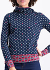 riders in the sky hood, dots of glory, Pullover & leichte Jacken, Blau