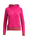 riders in the sky hood, dots of roses, Pullover & leichte Jacken, Rot