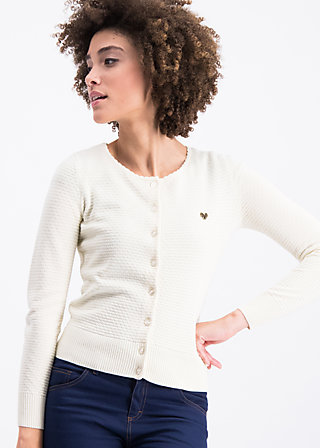 save the brave cardy, jane white, Pullover & leichte Jacken, Weiß