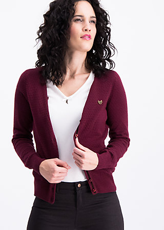 save the brave cardy, madame bordeaux, Pullover & leichte Jacken, Rot