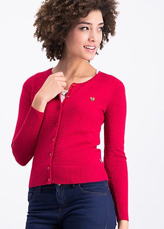 save the brave cardy, miss red, Cardigans, Rot