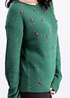 sea promenade pullover, kissing knot, Jumpers & lightweight Jackets, Green