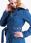 tales of tennessee trench, western denim , Mäntel, Blau