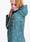 wild weather long anorak, fly to the sky , Softshell, Blau
