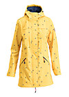 wild weather long anorak, fly to the sun, Softshell, Gelb