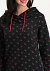 babuschka sweat, tiny heart, Jumpers & lightweight Jackets, Black