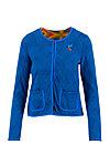 coco club jacket, saphir blue , Pullover & leichte Jacken, Blau
