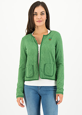 coco club jacket, smaragd green , Jumpers & lightweight Jackets, Green