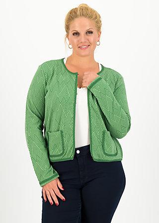 coco club jacket, smaragd green , Pullover & leichte Jacken, Grün