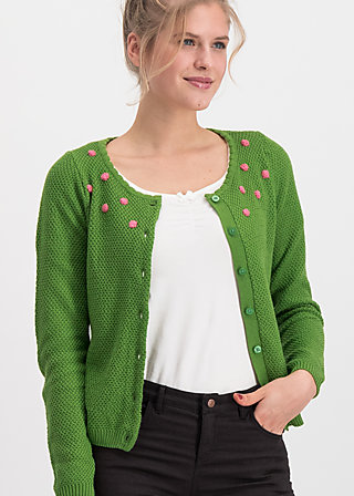 erntefreundin cardigan, bubbles of hope, Jumpers & lightweight Jackets, Green