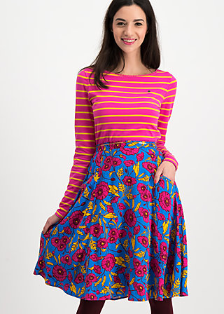 glamourous grace skirt, popping poppy, Röcke, Blau
