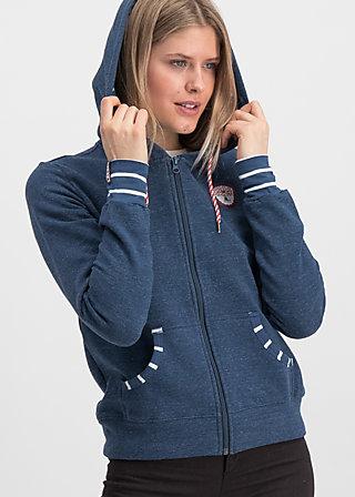 good morning bakerstreet zip, retro blue, Jumpers & lightweight Jackets, Blue