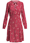 greta in love robe , hillbilly friendship, Kleider, Rot
