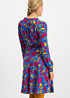 greta in love robe , popping poppy, Kleider, Blau