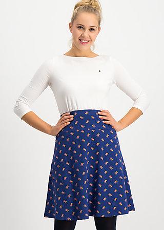 himmelsglocken skirt, auntie em , Röcke, Blau