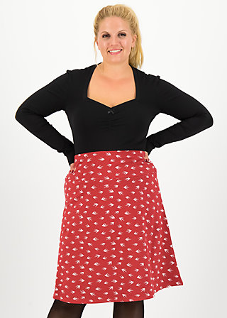 himmelsglocken skirt, oh omaha , Röcke, Rot
