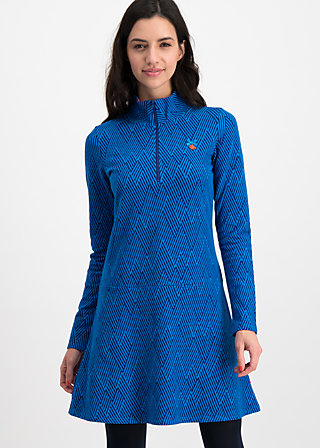 honest heart dress, saphir blue , Dresses, Blue
