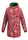 leichte laune longjacket, best bird, Jackets & Coats, Red