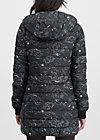 leichte laune longjacket, cosy cosmos, Jackets & Coats, Black