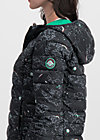 leichte laune longjacket, cosy cosmos, Jacken & Mäntel, Schwarz