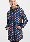 leichte laune longjacket, winter snowdrop, Jackets & Coats, Blue