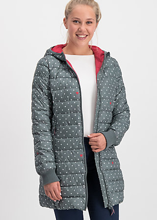 Quilted Jacket leichte laune, gray anchor love, Jackets & Coats, Grey