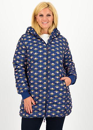 Steppjacke leichte laune, winter snowdrop, Jacken & Mäntel, Blau