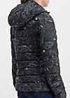 luft und liebe jacket, cosy cosmos, Jacken & Mäntel, Schwarz