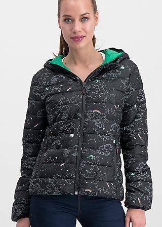 luft und liebe jacket, cosy cosmos, Jackets & Coats, Black