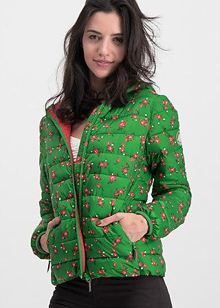 luft und liebe jacket, green roses, Jacken & Mäntel, Grün