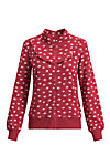 magic fairytale zip, oh omaha , Jumpers & lightweight Jackets, Red
