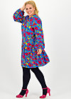 Kleid new romantics, popping poppy, Kleider, Blau