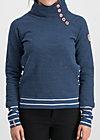 oh so nett sweat, retro blue, Pullover & leichte Jacken, Blau