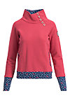 oh so nett sweat, retro pink, Pullover & leichte Jacken, Rot