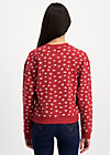 pretty paulette sweat, oh omaha , Jumpers & lightweight Jackets, Red