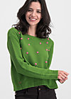 sea promenade pullover, bubbles of hope, Jumpers & lightweight Jackets, Green