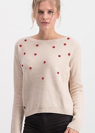 sea promenade pullover, bubbles of day, Jumpers & lightweight Jackets, White