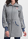 sister next door longjacket, retro grey, Jumpers & lightweight Jackets, Grey