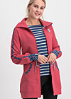 sister next door longjacket, retro pink, Jumpers & lightweight Jackets, Red